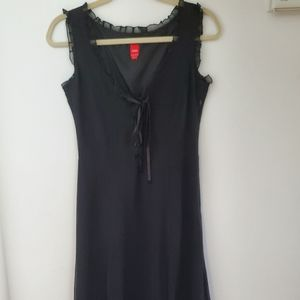 Esprit black silk dress